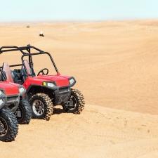 Buggy Car In Desert Safari